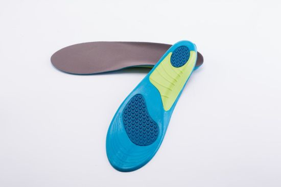 Arch Design Anti-Slip Pain Relief PU Gel Sport Insole