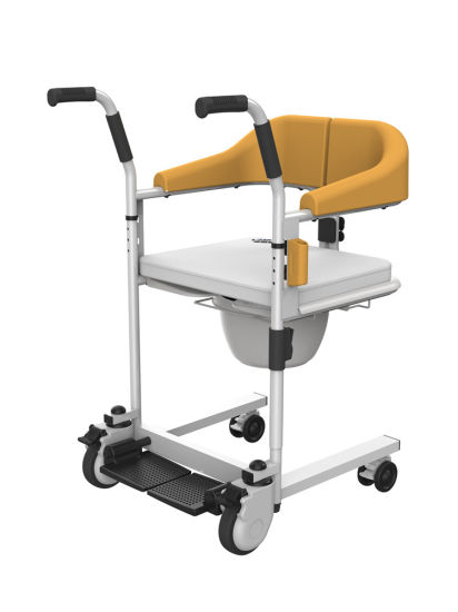 Awesome Transfer Patient Wheelchair For Toilet Bathing Move Bed Ncnpc Chair Design For Home Ncnpcorg