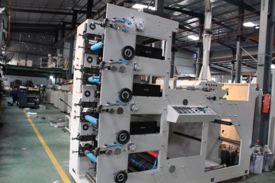 Dbry Series Flexo Printing Machine for Label Paper and Film Printing
