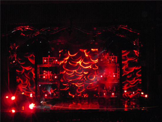 P6.25 High Refresh Rate LED Display Screen for Stage