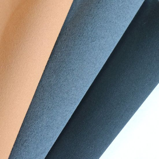Excellent Quality Suede Fabric Imitate Microfiber Leather for Bags and Shoes, Shoes Lining pictures & photos