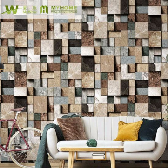 China Wholesale Korean Size 1 06 3d Brick Design Wallpaper For Home Decor China 2019 Wallcovering Pvc Wallcovering