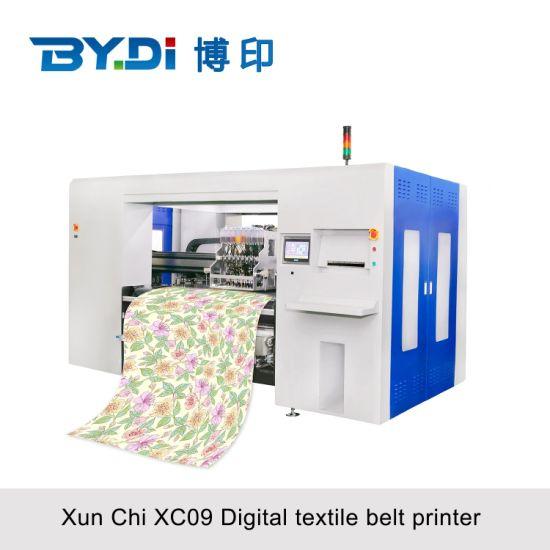 China Factory Boyin 100 Percent Silk Printing Solution Fabric Digital Textile Silk Printer with Kyocera Print Head (XC09-16)