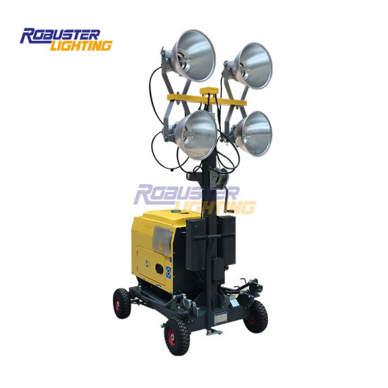China Outdoor Portable Light Plant, Portable Outdoor Lighting Tower