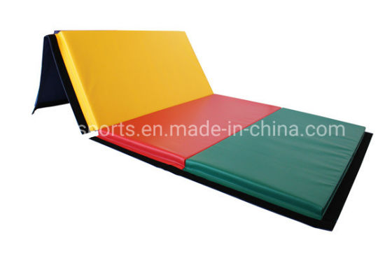 4'x8' Foam Cheap Gymnastics Tumbling Exercise Mats (rainbow 4*8*35V4)