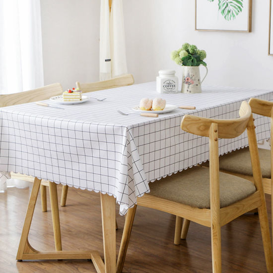 Airline Cotton Tablecloth Custom Waterproof Table Cloth