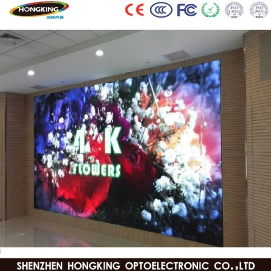 Indoor Full Color LED Display P3 P4 P5 for Advertising Sign