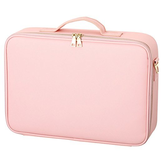 Hot Sale Custom Logo PU Leather Travel Makeup Cosmetic Bag pictures & photos
