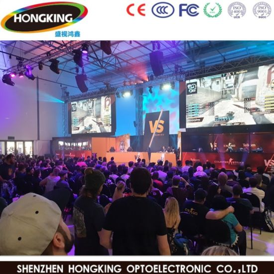 Indoor Full Color P7.62 LED Advertising Board