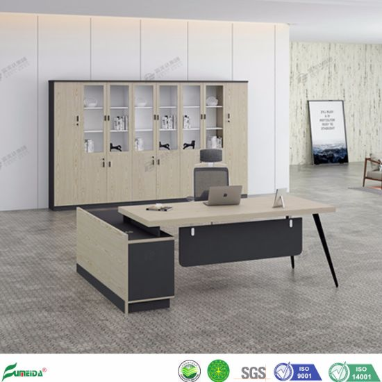 Office Furniture L Shape Manager Office Desk with Left/Right Direction (AB1853)