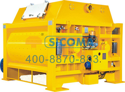 Sicoma Twin Shaft Concrete Mixer Batching Plant Mixing Machine