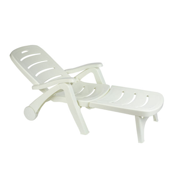 China 5 Position Backrest Adjustable, Chaise Lounge Chairs Outdoor Plastic