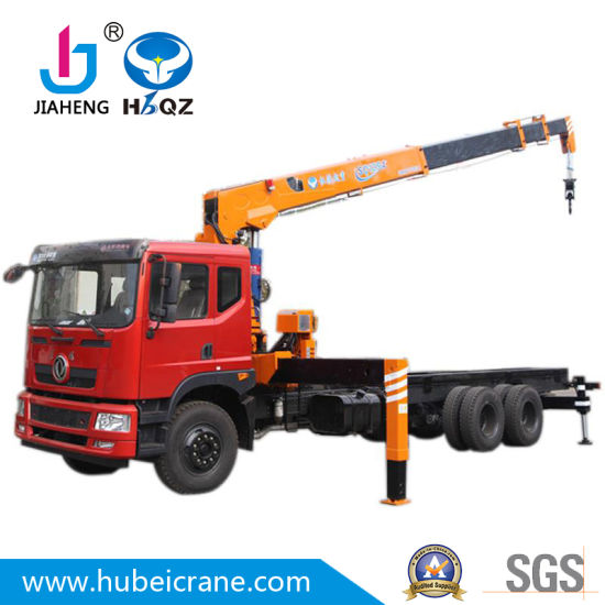 Good factory price Telescopic Boom Truck Crane 3.2ton Truck Crane SQ3.2S3 Boom Truck Crane