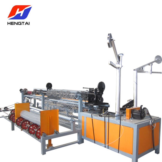 Fully-Automatic Chain Link Fence Weaving Machine (Doule wire and Single wire can customized)
