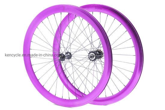700c Bike Wheel Sets/50mm Rim Depth Wheel Sets/Double Wall Rim /Sy-Ws-50m