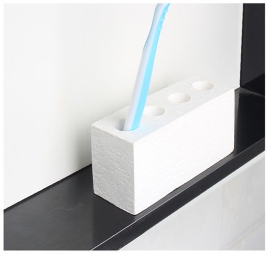 Creative Water Absorption Anti-Bacterial Mildewproof Diatomite Toothbrush Holder pictures & photos
