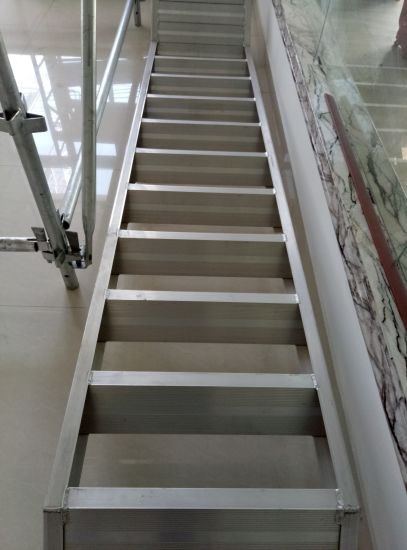 Painted Or Galvanized Light Steel Structure Stairs