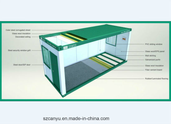 Mine Camp Prefabricated Container House pictures & photos