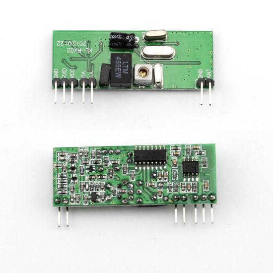 Non-Code Fsk Decoding Receiver Module RF Wireless Receiver