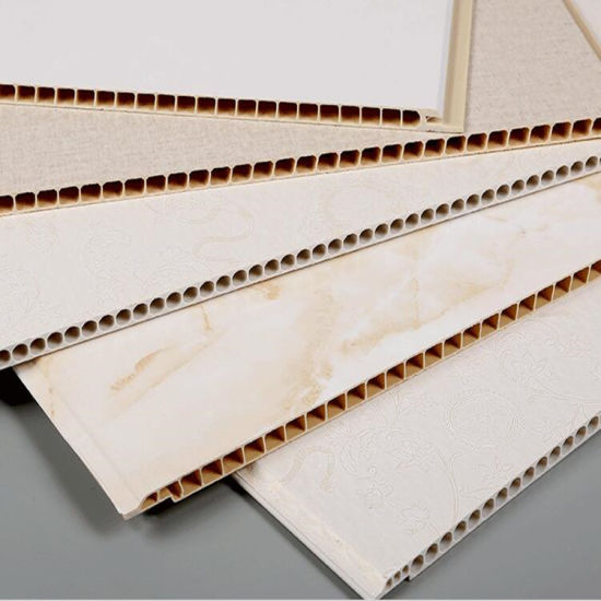 Width 400mm PVC Wall Panel Decoration PVC Panel Wall Panel Easy Installation and Cleaning DC-500