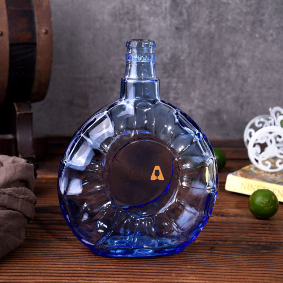 750ml Filling Glass Wine Bottle/Glass Liqueurs Bottle