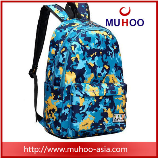 China Outdoor Camou Hiking Travel Laptop School Sports