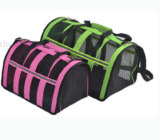 OEM Mesh Portable Folding Outdoor Cat Dog Bag Pet Carrier pictures & photos