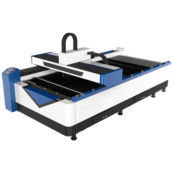 750W CO2 Oxygen Hybrid Steel Laser Cutting Machine for 2mm Stainless Cutting