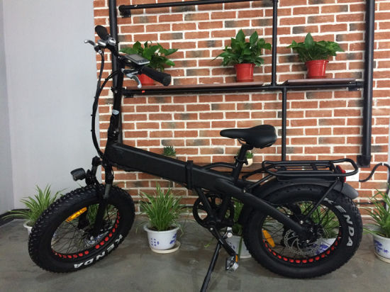Very Hot Sale 4.0inch Fat E-Bike with Hidden Battery pictures & photos