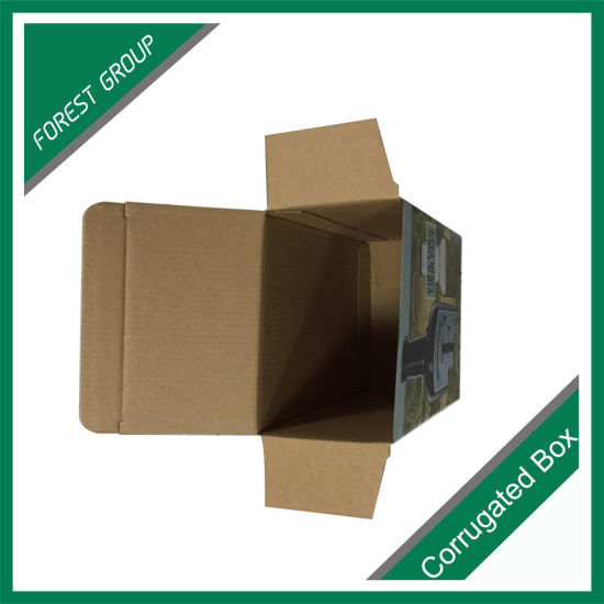 Corrugated Cardboard Football Display Box with Window pictures & photos