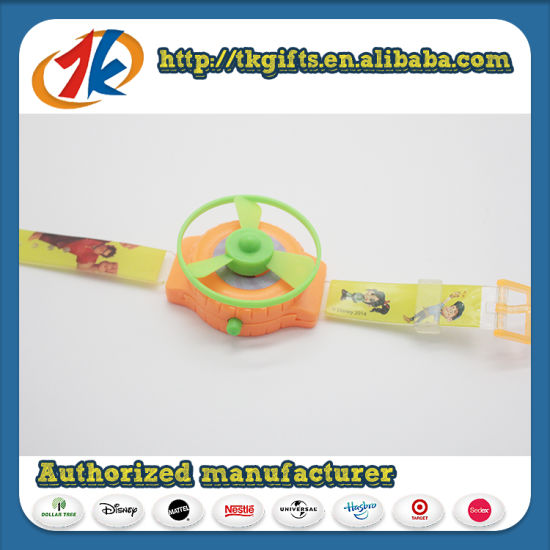 Popular Cool Toys Plastic Watch Shooter Space Flying Toys