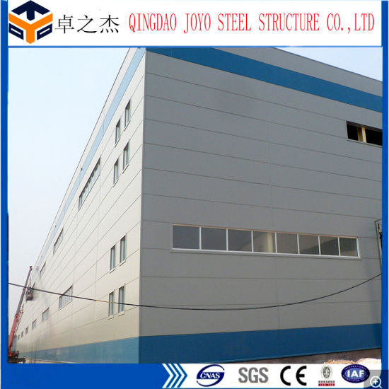 Industrial Shed Design Prefabricated Big Steel Structure Warehouse Hot Sale
