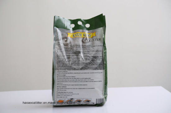 Super Clumping Nature Color Bentonite Cat Litter pictures & photos