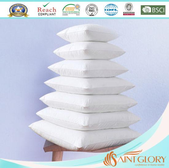 Factory Gel Fiber High Quality Polyester Microfiber Down Alternative Pillow Cushion Inner