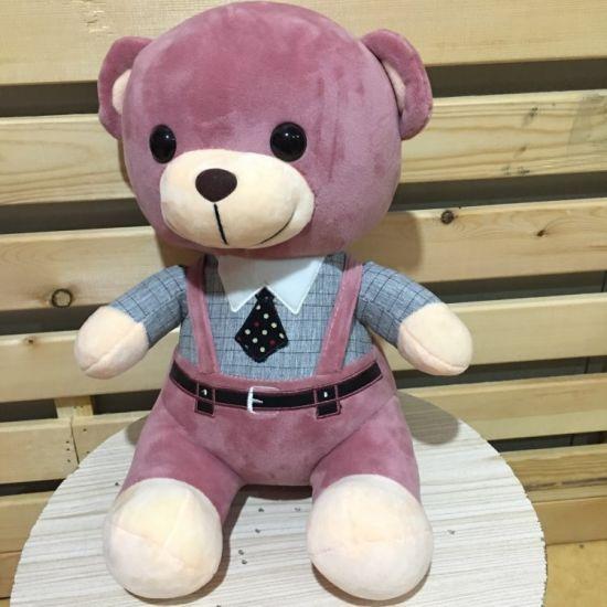 Wholesale Stuffed Plush Braces Valentine Teddy Bear Toy