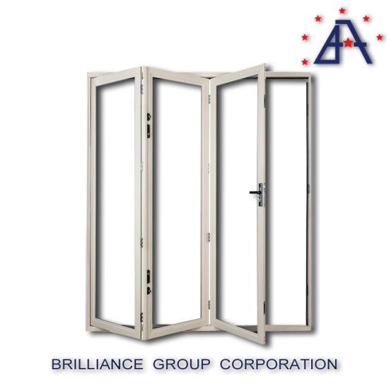 China Aluminium Folding Door, Commercial Folding Door with Siegenia ...
