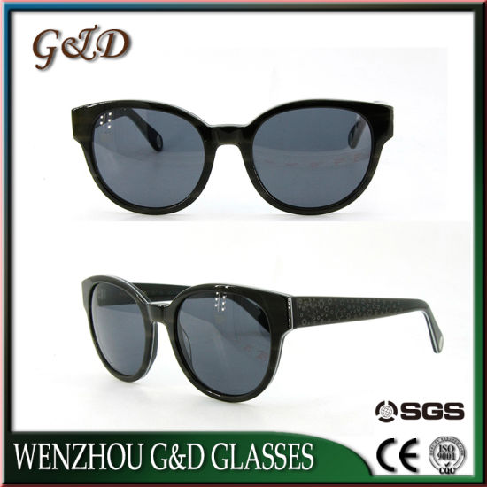 Great Quality Design China Manufacture Wholesale Acetate Frame Sunglasses