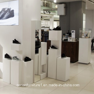 Shop Display Units Corian Solid Surface Acrylic Material Made pictures & photos