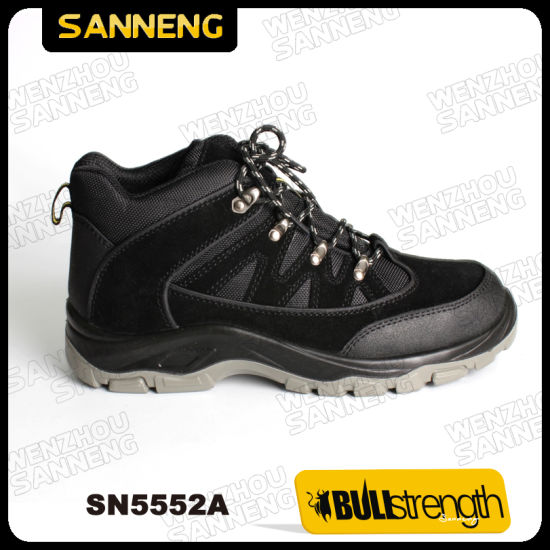 Industrial Leather Safety Shoes with New PU/PU Sole (Sn5552) pictures & photos