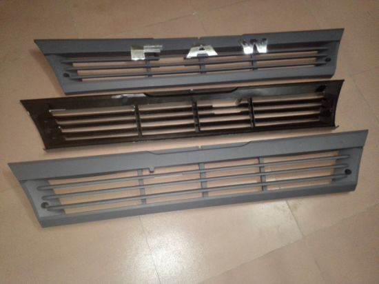 Front Lower Big Plastic Silver Gray Grille for Amw FAW Jiefang FM240 pictures & photos