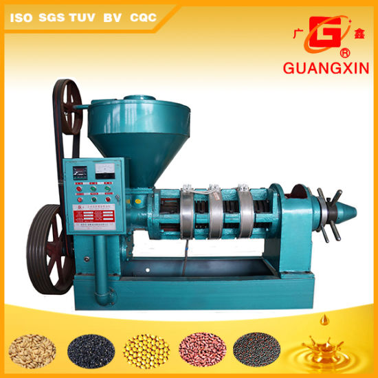 Guangxin High Oil Yield Soybean Oil Making Machine From China Yzyx130wk pictures & photos