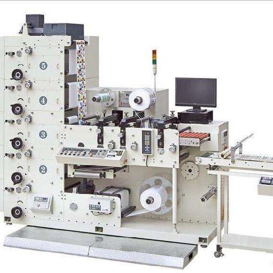 1~6color Stack Label Flexo Printing Machine