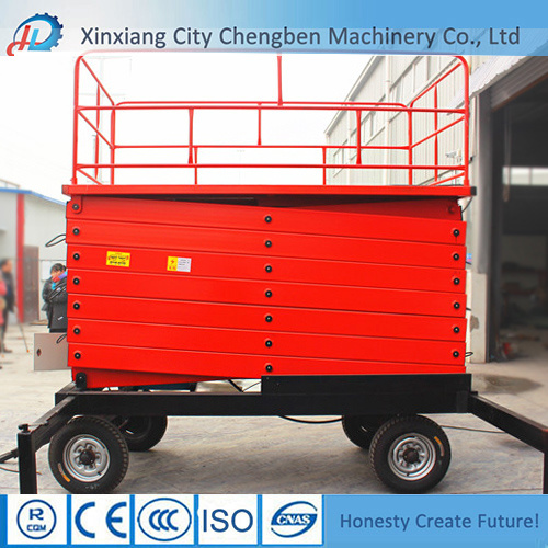 500kg Home Scissor Lifts for High Lifting pictures & photos