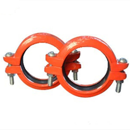 Ductile Iron Grooved Fitting Reducing Coupling pictures & photos