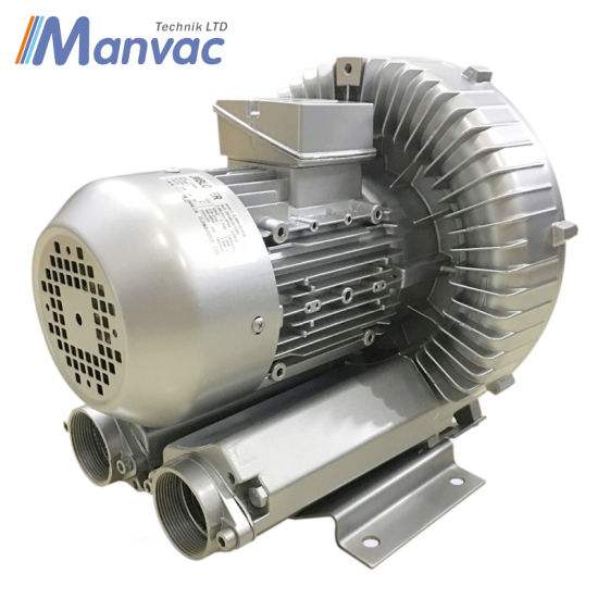 Blower Powered Air Knives : China kw regenerative blower for air knife drying