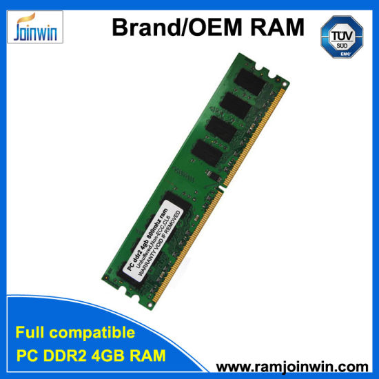 Recommend Supplier 800MHz PC2-6400 DDR2 4GB RAM Price pictures & photos