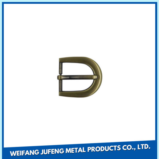 Customized Zinc Alloy Pin Buckles for Shoes/Garment/Bags/Belts