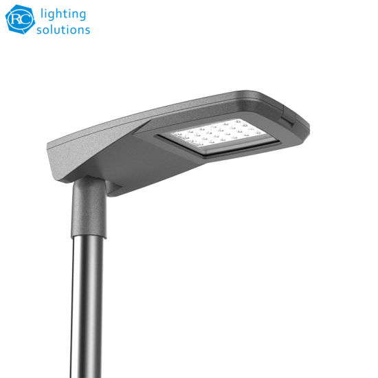 100W IP66 Die Cast Aluminum Tool Free Outdoor Road Light LED Street Lamp for Parking Lot Lighting