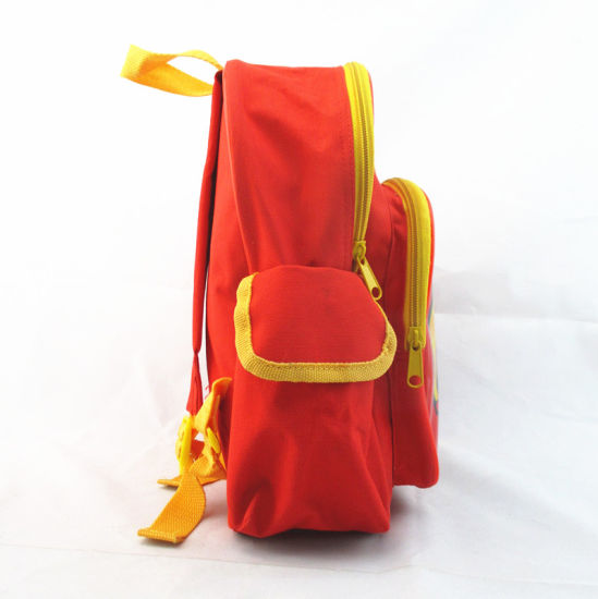 Lovely Fireman Print Student Bag Backpack for Kids pictures & photos