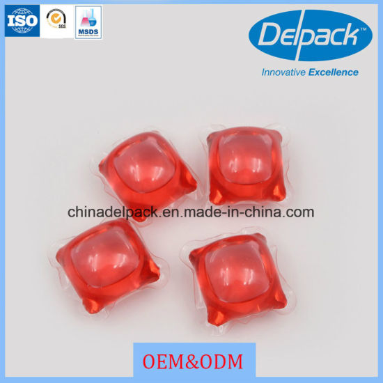 OEM&ODM Liquid Laundry Detergent Pod, Laundry Liquid Detergent Capsule, Washing Liquid Detergent Soap pictures & photos